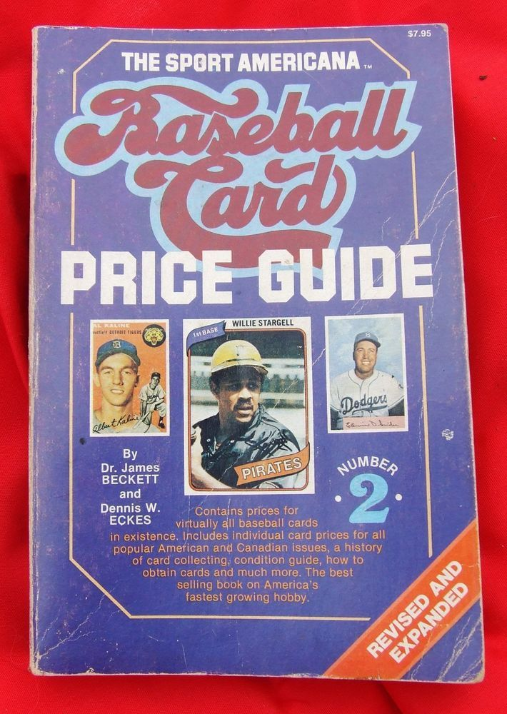 Vintage Baseball Card Price Guide Book #2 1980 This is now for ...