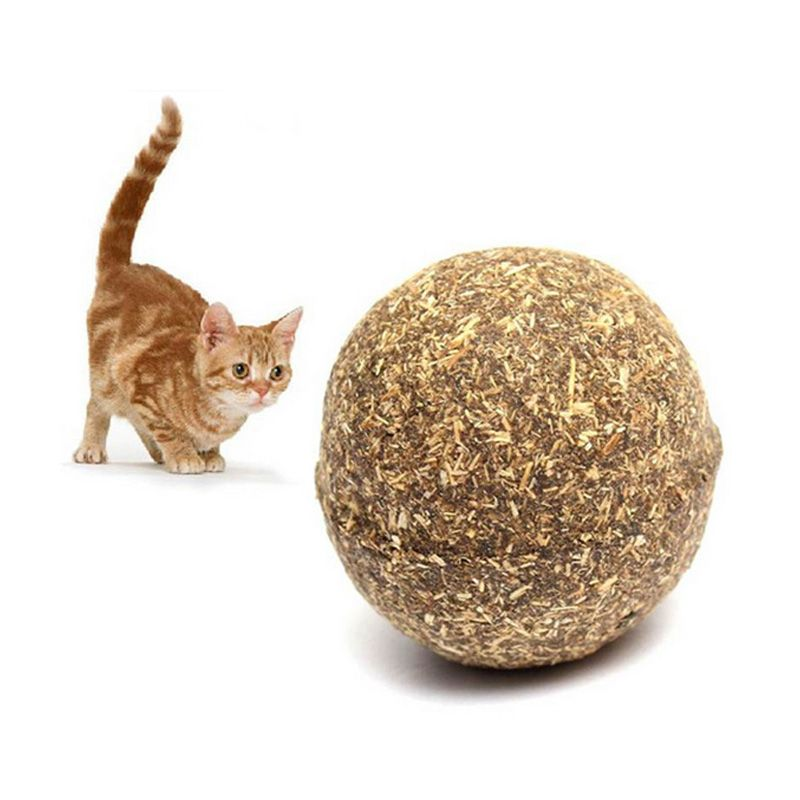 Pet Cat Natural Catnip Treat Ball Favor Home Chasing Toys Healthy Safe Edible Treating Catnip Ball Cat Toy In 2020 Cat Pet Supplies Cheap Cat Toys Pet Cat Toys