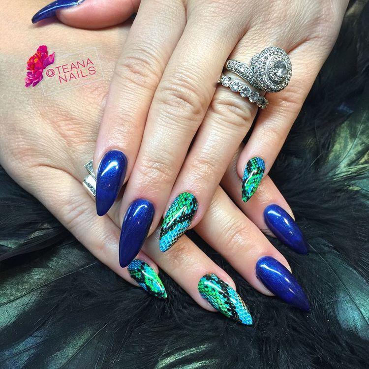 Teana (@teananails) • Instagram photos and videos   Nails   Pinterest
