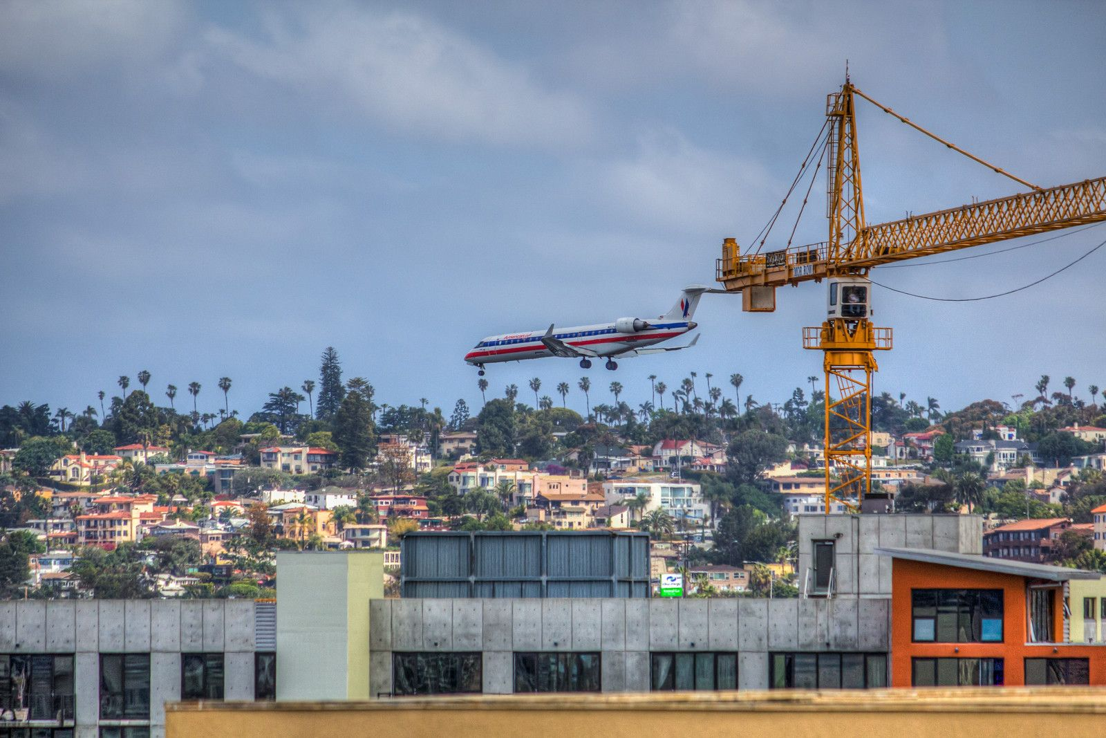 Touch and Go-- In the flight path, San Diego, California.--Photos by David Seibold