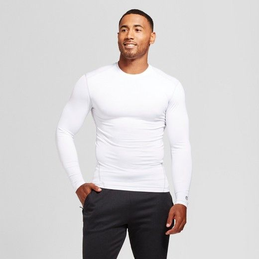 e9d5a608 The Men's Power Core® Compression Long Sleeve Tee from C9 Champion®  provides a supportive fit and sweat wicking fabric that dries fast for a  comfortable, ...
