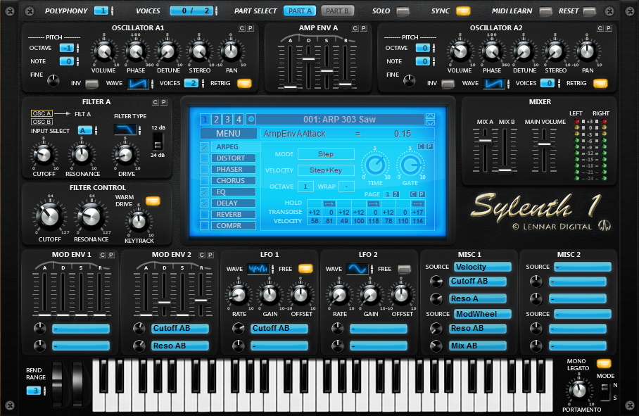 download crack sylenth1 v.2.2.1 free full version windows mac