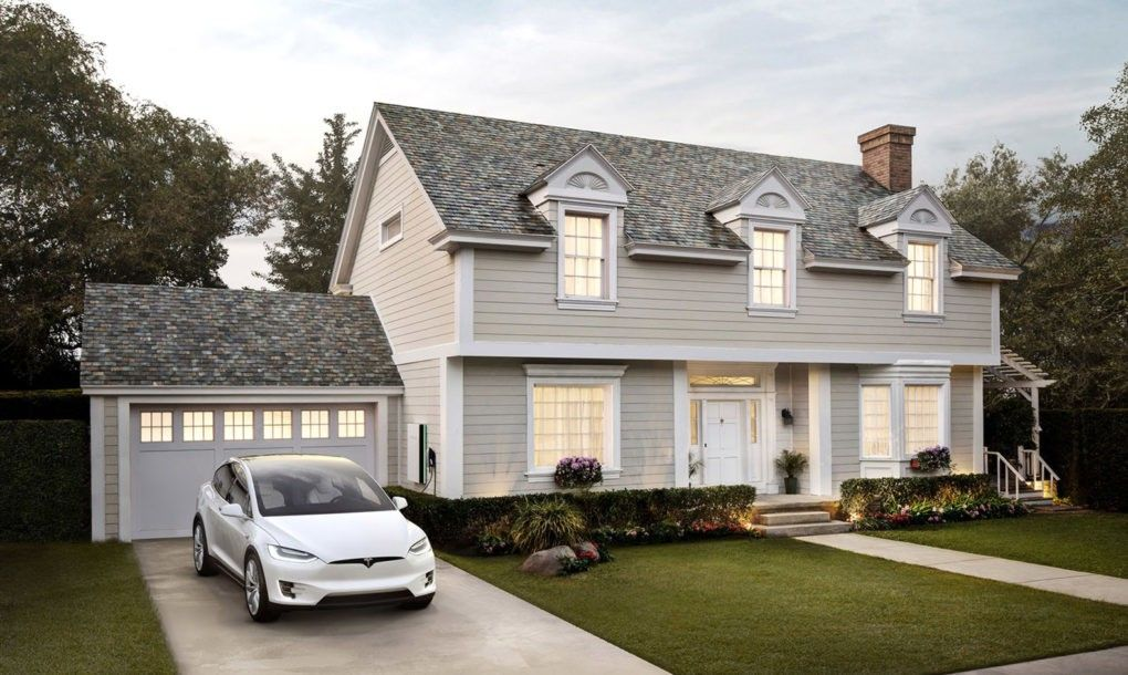 Tesla S New Solar Roof Is Actually Cheaper Than A Normal Roof Solar Shingles Solar Roof Tesla Solar Roof
