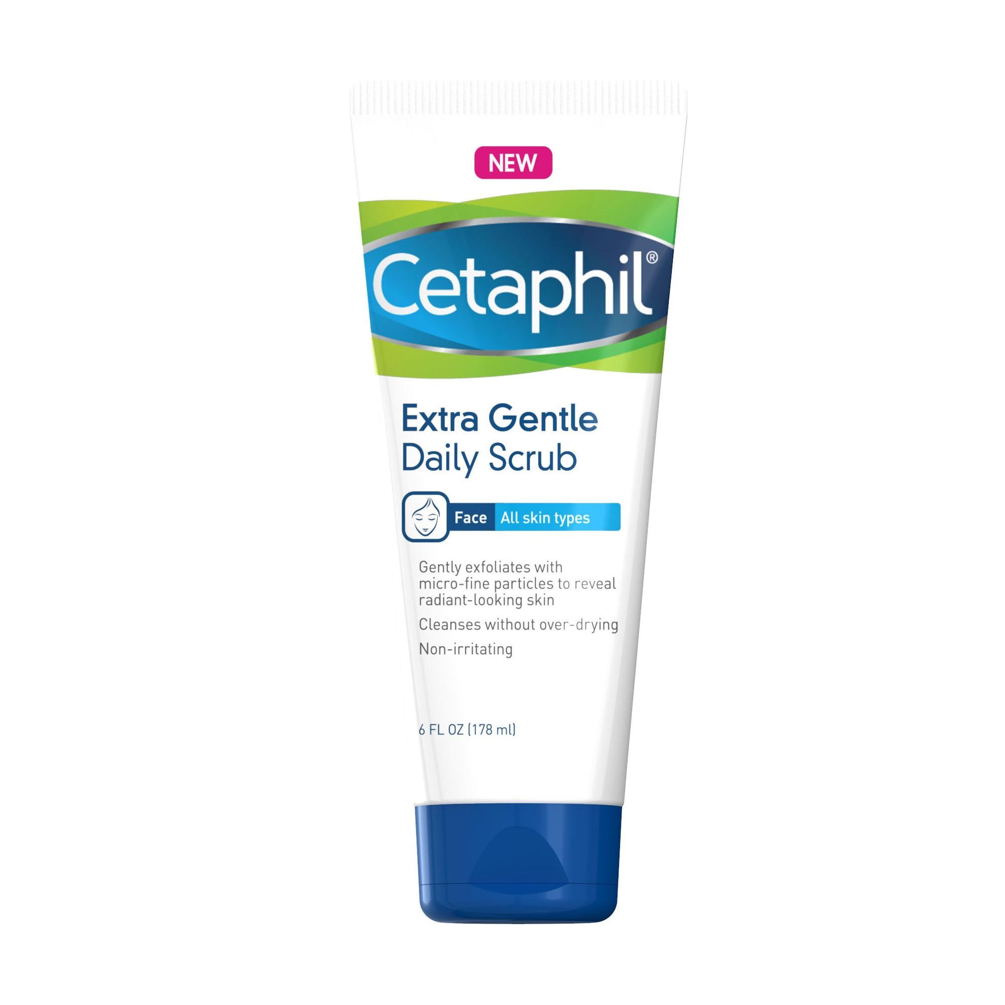 Cetaphil Gentle Exfoliating Facial Cleanser 6oz in 2019