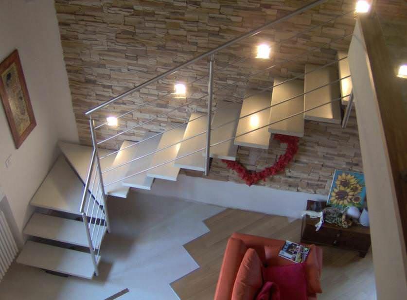 Abbellire scala interna led handrail nel 2019 scale for Abbellire parete