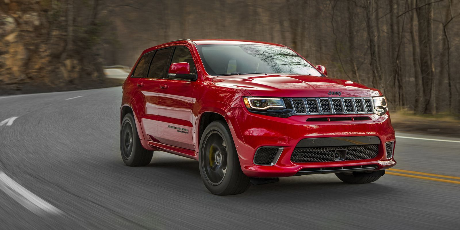 The 707 Hp 2018 Jeep Grand Cherokee Trackhawk Starts At 85 900