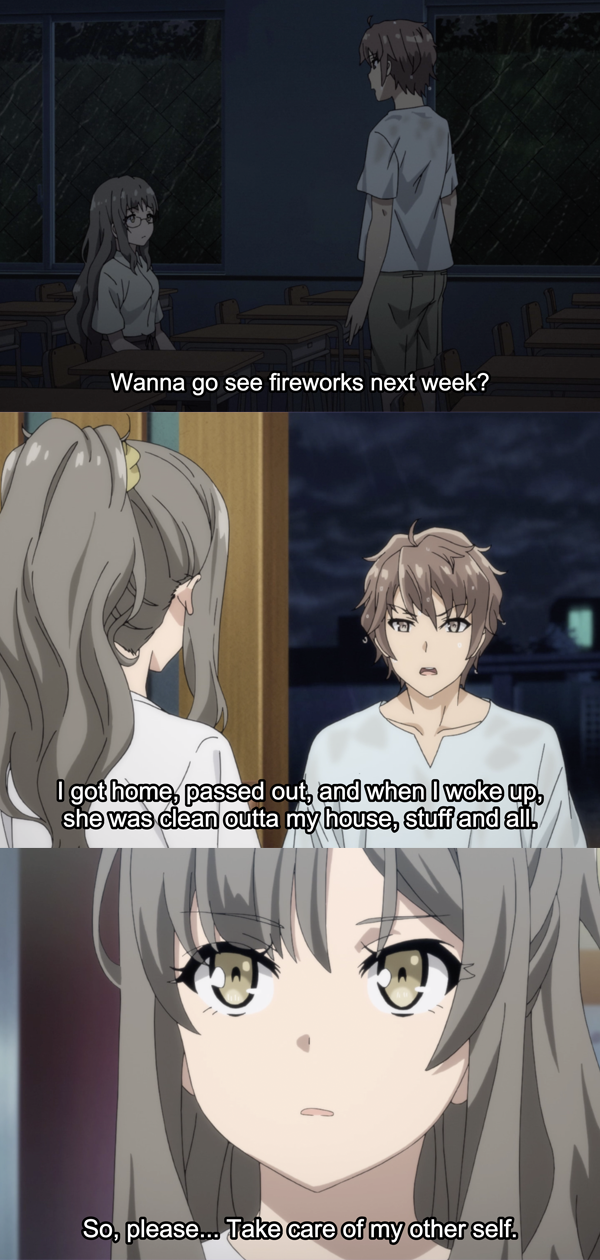 Run Sakuta Anime Anime Fan Senpai