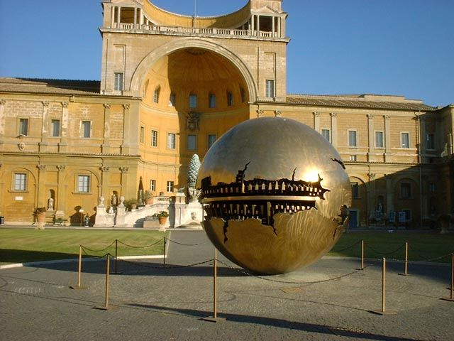 Arnaldo Pomodoro at the Vatican