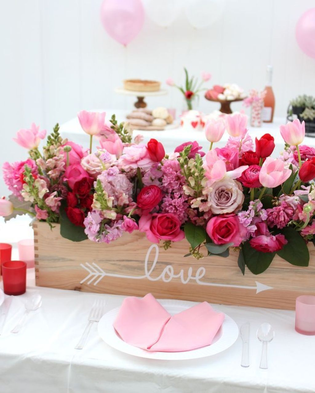 49 Unordinary Centerpieces Decoration Ideas For Valentines Day