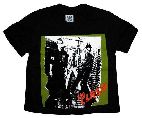 576b7eec4 The Clash Self Titled Album Cover Punk Rock Toddler T-Shirt Tee $15.99