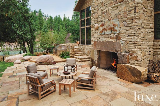 We Are Smitten With The Patio Of This Scenic Property In