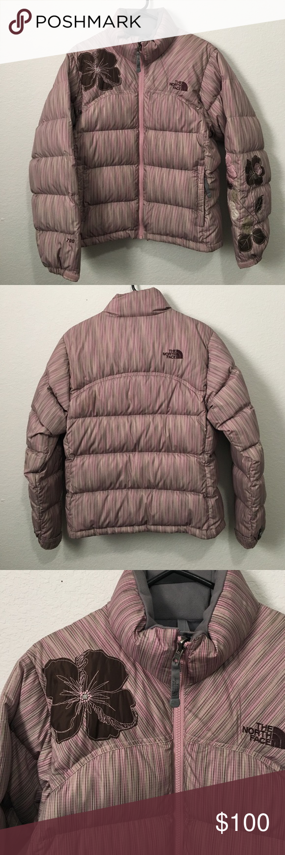 The North Face Special Edition Puffer Coat Puffer Coat The North Face Brown And Grey [ 1740 x 580 Pixel ]