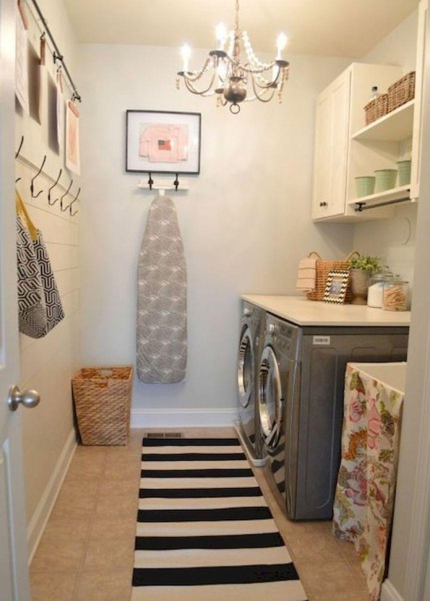 Diy Laundry Room Storage Shelves Ideas 36 área De Serviço