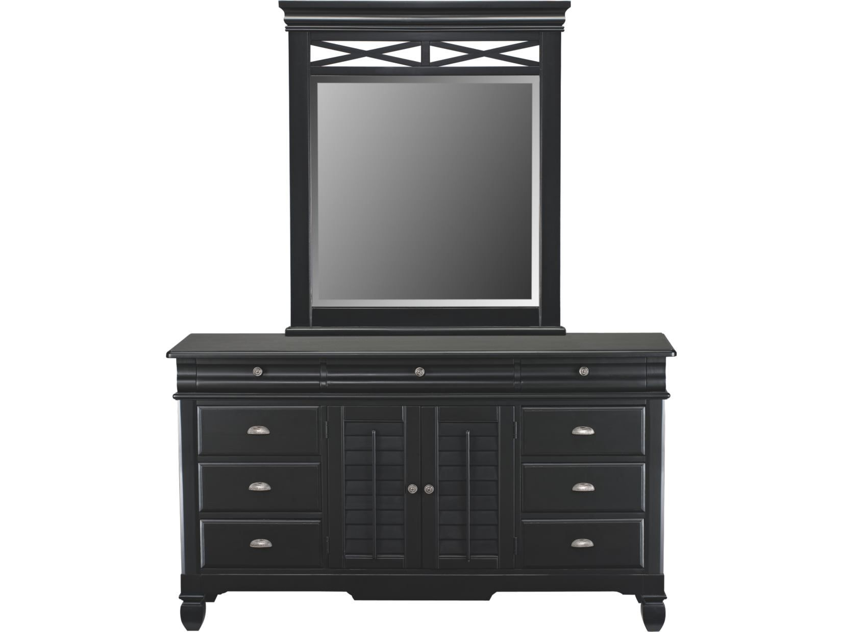 To Match The Bed Plantation Cove Black Dresser Amp Mirror