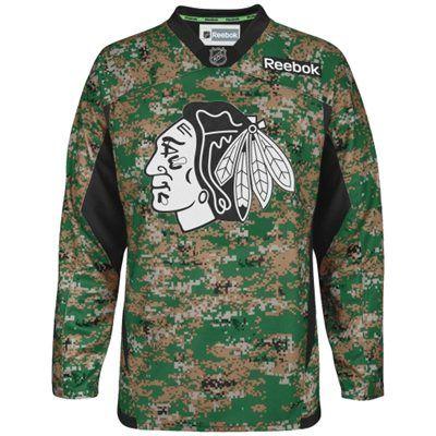 6e3041278 ... mens chicago blackhawks reebok digital camo veterans day practice jersey