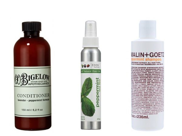 Peppermint Hair Products