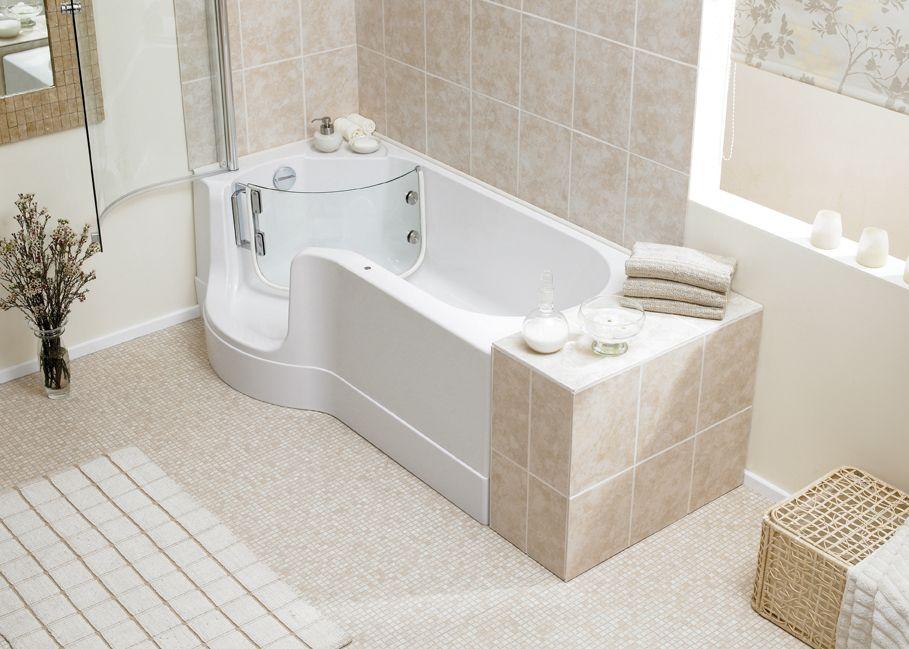 systems bathroom seats renaissance valens walk bath soaking baths ...