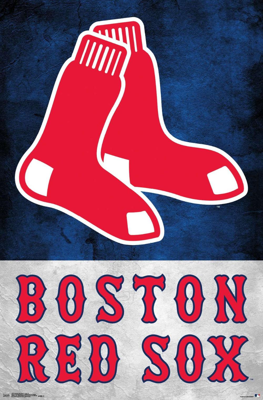 Mlb Boston Red Sox Logo Boston Red Sox Logo Boston Red Sox Poster Red Sox Logo