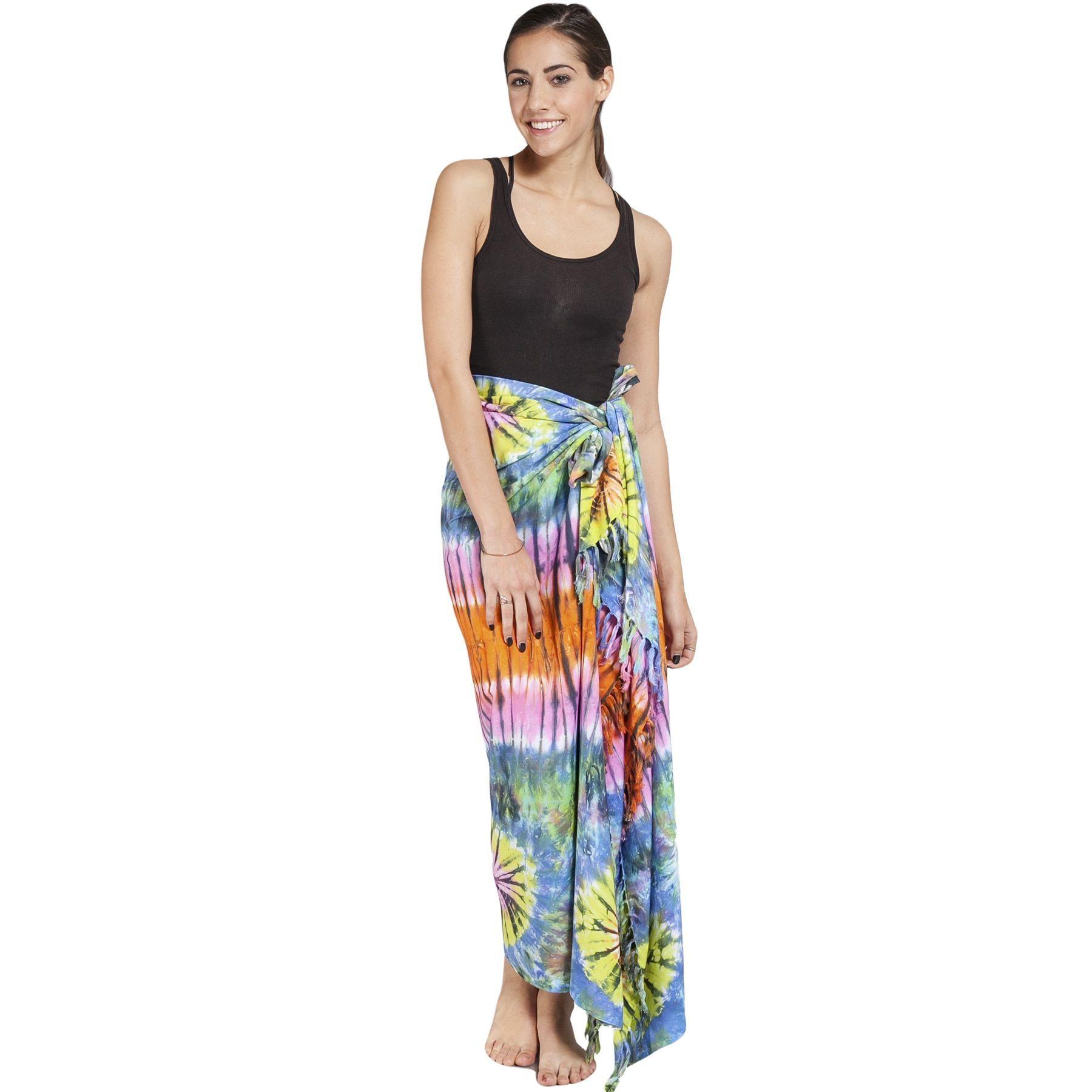 Women's Colorful Sarong Wrap