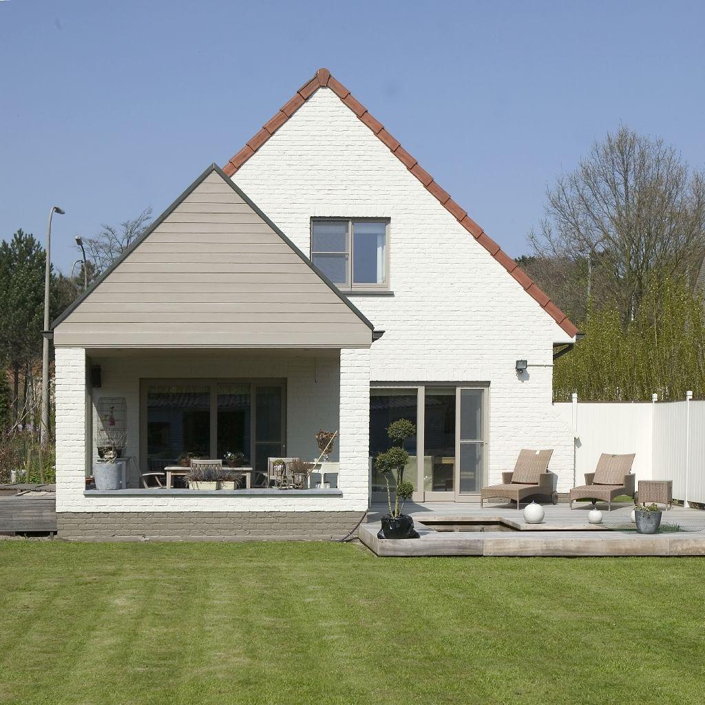 Gevel schilderen facade paint peinture verf exterior buitenkant huis pinterest - Huis buitenkant ...