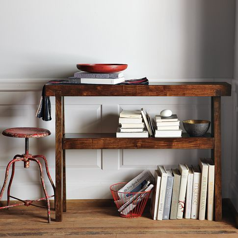 Perfect For Creating An At Home Bar West Elm Rustic Acacia Console