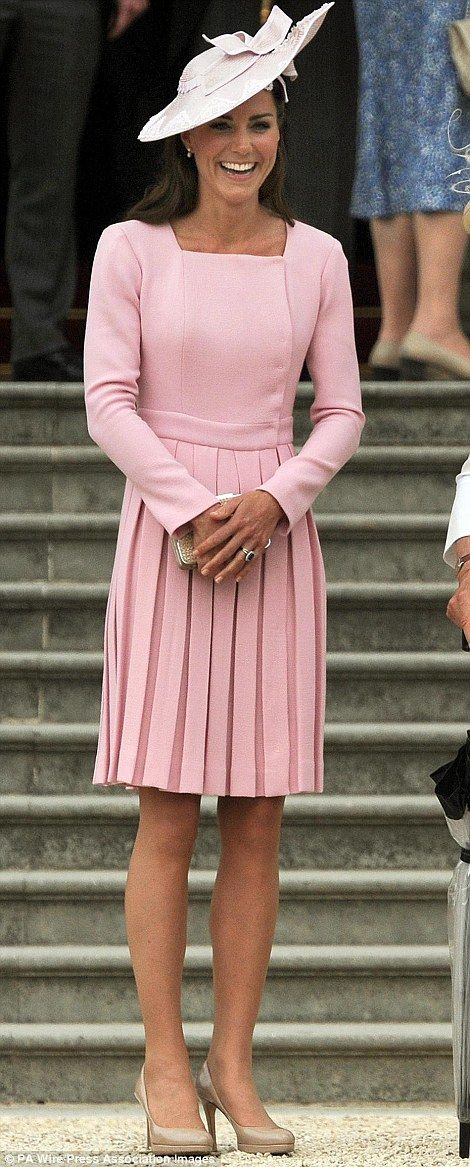 Kate saved the best till last in delicate lace: How the Duchess ...