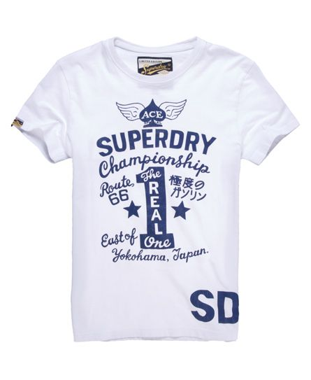 New Mens Superdry Jungle T-shirt Optic