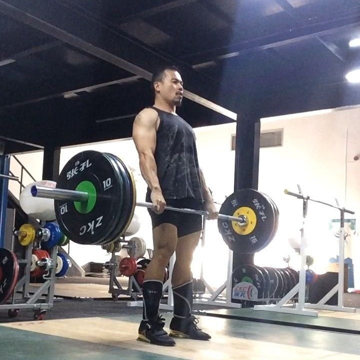 Hang Clean & Jerk At OSA Olympic Sports Academy @osaolympic #weightlifting #olympiclifting #weightli...