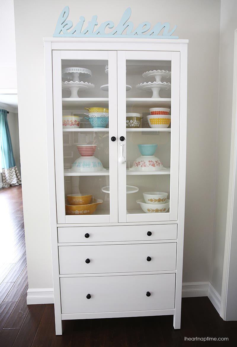 White and grey kitchen makeover on iheartnaptimecom
