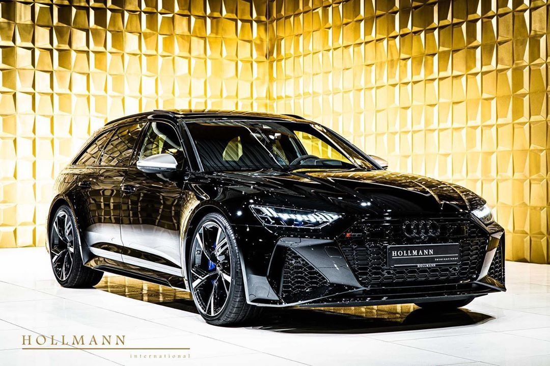 Hollmann International On Instagram Audi Rs6 Avant Color Myth Black Metallic Upholstery Leather Black Seats 5 Transmission Au In 2020 Audi Rs6 Lamborghini Audi