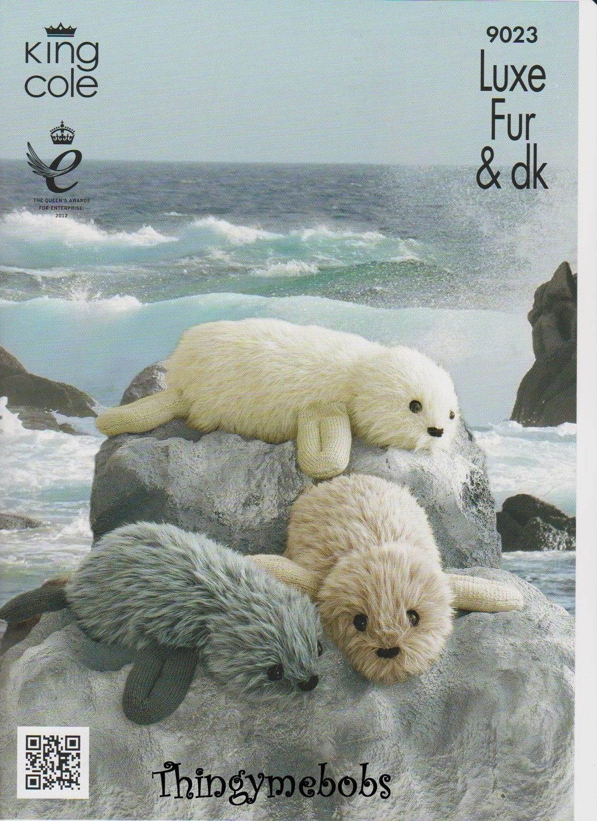 King Cole 9023 Baby/real Seal Original Knitting Pattern - Luxe Fur ...