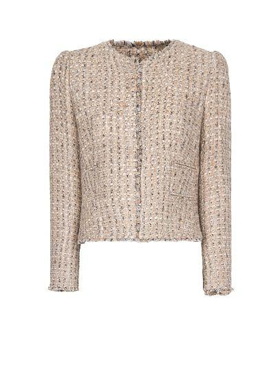 MANGO - Jacket Veste Style Chanel, Vestes Mango, Veste De Costume, Vestes En ddac807a4265