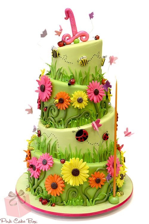 Our Top Ten Ladybug Themed Cakes for Children! » Pink Cake ...