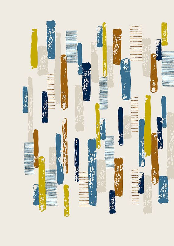Line Print No 2 limited edition giclee print by Eloise ...