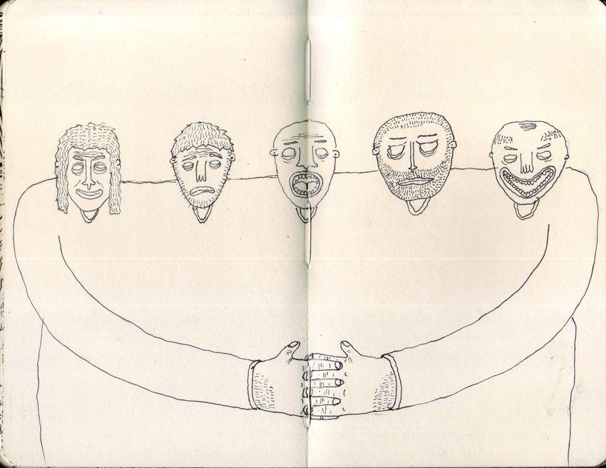 Libretas De Dibujo De Un Artista Freelance: Pin De Rubén Chumillas En Ilustración