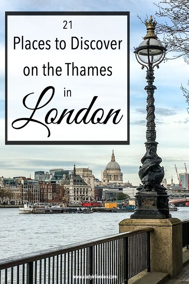 21 amazing places to see on the Thames in London. From east to west, these are the city's famous landmarks and secret spots.