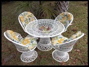 Fibergl Outdoor Wicker Furniture