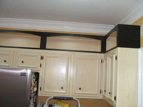 Pimping A Kitchen With Add On Cabinet Toppers By David Grimes Lumberjocks Woodworking Community