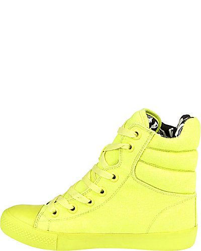 841e4cec221a NEXUSS BLACK - neon yellow sneaker