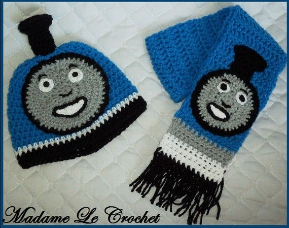 crochet thomas hat | My Style | Pinterest | Hauben, Mütze und Stirnband