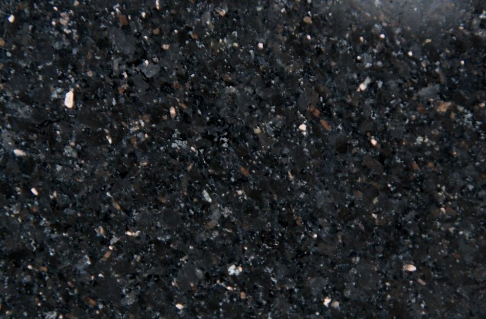Black Granite Black Galaxy With Images Stone Decor Marble Granite Black Granite