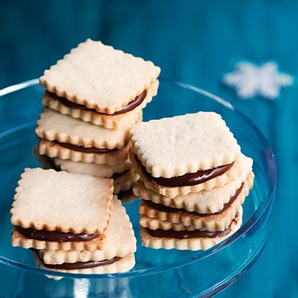 #5ingredients with Chocolate Hazelnut Cutout Cookies (Nocciolini)!! When you just need a little something....