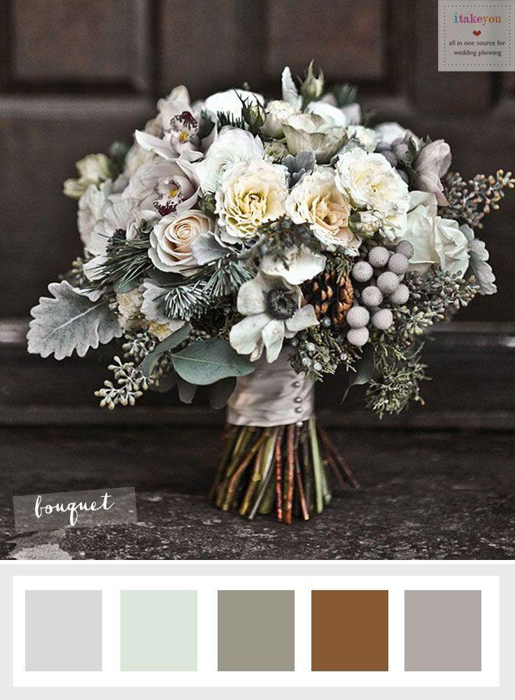 Choosing The Ideal Winter Wedding Flowers Itakeyou Co Uk Winterweddingflowers Anemonie Pinterest Flower And