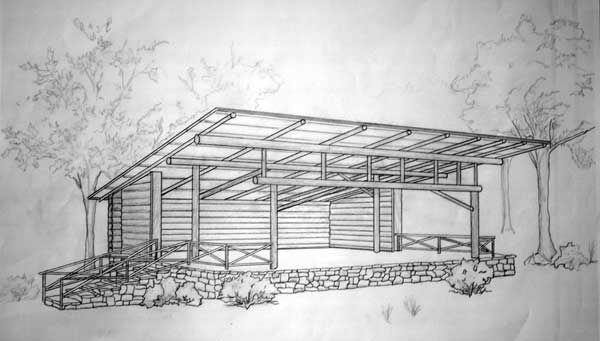 Permanent outdoor stage designs google search my style for Build in stages house plans