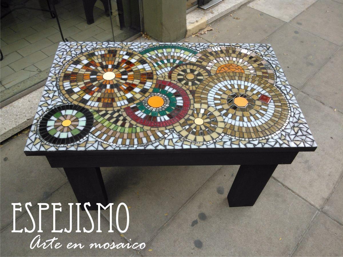 Resultado de imagen para mosaiquismo mosaico y vidrio for Mesas de mosaico