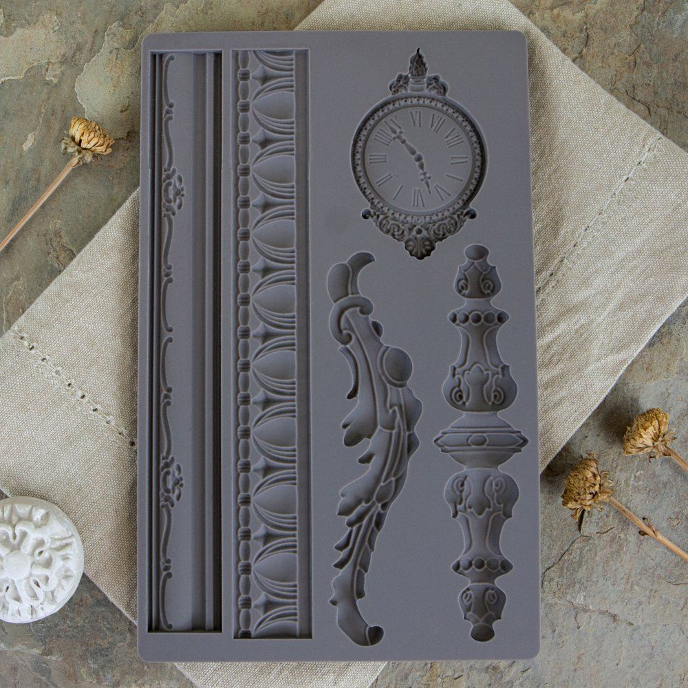 Prima Iron Orchid Designs Vintage Art Decor Mould Baroque 6 Iod By Prima Silicone Molds For Beautifully Dimen Iron Orchid Designs Art Decor Vintage Art