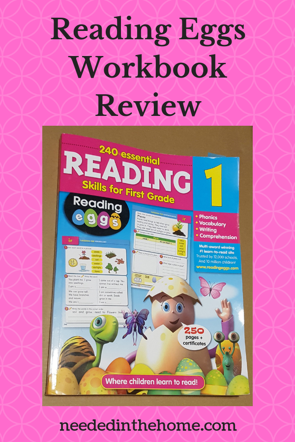 Reading Eggs Workbook Review For Grade 1 Reading For Kids To Help Them Learn To Read For This Rea First Grade Phonics Reading Skills Homeschool Lesson Planner
