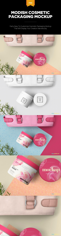 Download Free Cosmetic Packaging Mockup Zippypixels Cosmetic Packaging Packaging Mockup Free Cosmetics