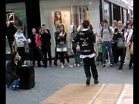 George sampson dancing in Liverpool 2008 - Video 1