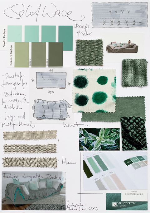 My April Mood Board: How to Create a Color Mood Board - Eclectic Trends